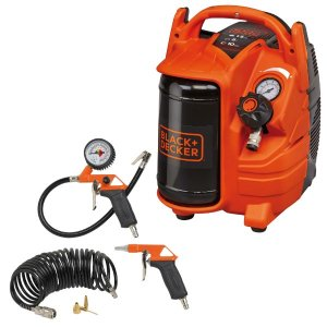 BD195/5-MY-T, Vertical, 1.1kW 1.5Hp 5Lt Receiver 10 Bar with Inflating Kit & Blow gun